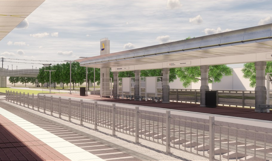 12th Street Silver Line Station