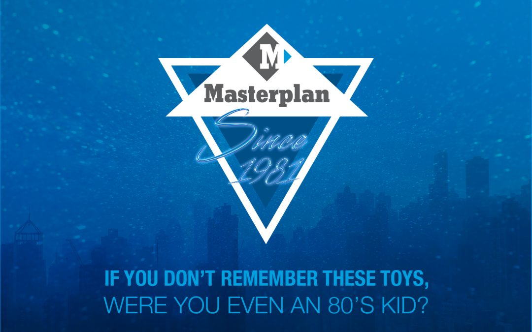 Masterplan's 40th Anniversary Throwback: If you don't remember these toys, were you even an 80s kid?
